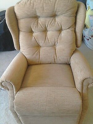 Barely used Electric Riser Recliner Chair
