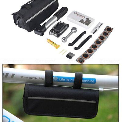 Mountain Bike Tire Repair Kit Tool Road Cycling Bicycle Multi Function Pump Tool