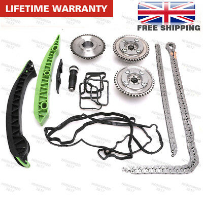 Timing Chain Kit & Camshaft Gears Mercedes C,E W204 W212 C207 A207 CGI R172 M271