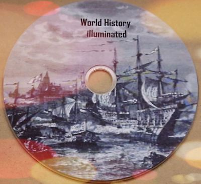 The World's History Illuminated converted from rare books to Pdf for PC on disc