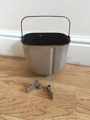 Panasonic SD-257 Bread Pan With Mixing Paddle/coated Rye Paddle