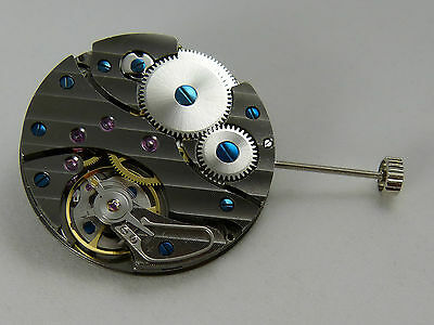EXCLUSIF  Mouvement clone UNITAS 6497-2 AAA SWAN NECK GUN COLOR Watch Movement