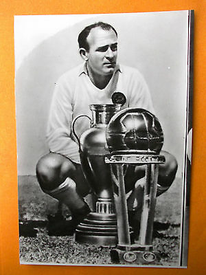 Card Alfredo Di Stefano issued in Bulgaria 1960s Argentina Spain Real Madrid