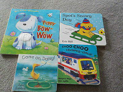 Board Books Bundle – 4 Fun stories for under 3's (OX12)