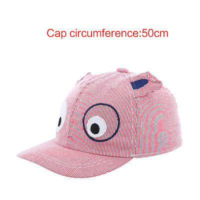 Baseball Caps Baby Boy Girl Kids Cotton Cartoon Cute Dog With Little Ears Hat HL