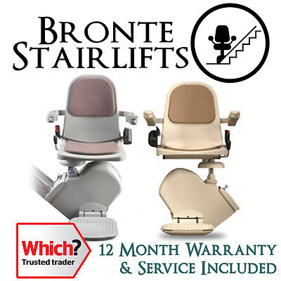 Reconditioned Acorn / Brooks Slimline Straight Stairlift with 1 Year Warranty