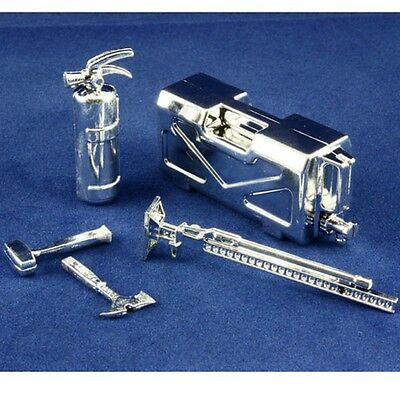 Body accessories combo silver for 1:10 RC may suit Axial Tamiya TRAXXAS Wraith