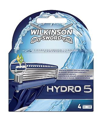 16 X Wilkinson Sword Hydro 5 Razor Blades Refills For Men - 4 X 4 Packs Genuine