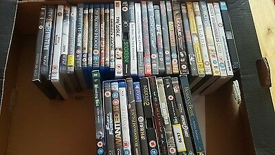 job lot of dvd and blue ray films