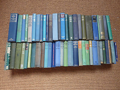 Collection of 53 hardback vintage books, look good in your bookcase!