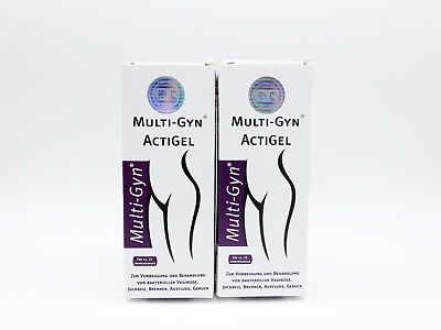 (19,90€/100ml) 2 x Multi-Gyn ActiGel 50ml (bei bakteriellen Vaginalinfektionen)