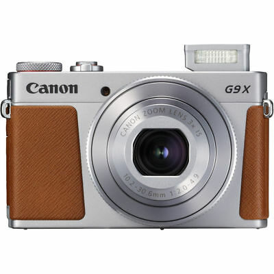 New Canon Powershot G9X Mark II Digital Cameras - Silver