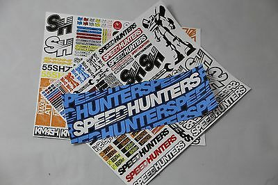 Speedhunters *bundle 19* Rc Double Sticker Pack + Bumper* Official Merchandise