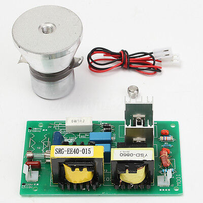 220V AC100W Power Driver Board + 28KHz Ultrasonic Cleaning Transducer Cleaner