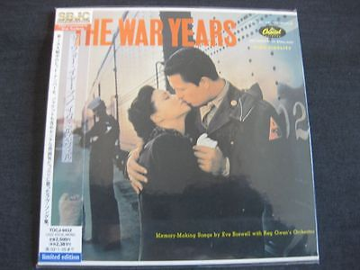 EVE BOSWELL, The War Years, JAPAN CD Mini LP, TOCJ-9432, 24 bit remastered