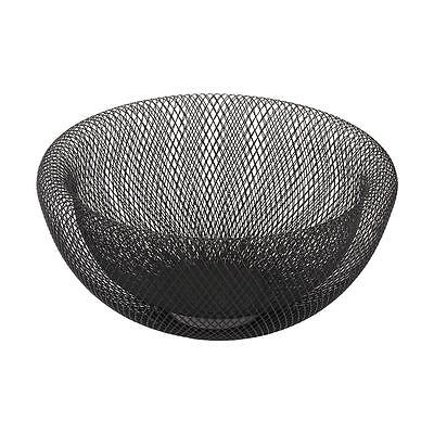 Iron Mesh Fruit Vegetable Bowl Black Home Decor - Fruit Bowl - Fruit Basket -Veg