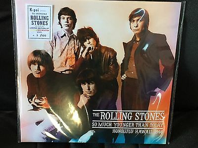 "The Rolling Stones "" So Much Younger Than Today "" 1Lp, Ltd.ed. Coloured Vinyl,"