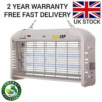 30W Professional Bug Zapper Electric Insect Fly Killer With Remote Control