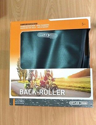 Alforjas impermeables ORTLIEB Back Roller Classic QL2.1 Negro (2X20Litros)