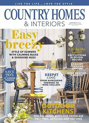 Country Homes & Interiors Magazine July 7/2017 Easy Breezy Current Issue