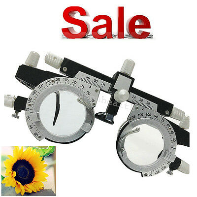 Optical Optic Trial Lens Frame Eyes Optometry Optician Test Trial Lenses Frame