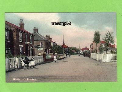 West Mersea Village Nr Colchester unused old pc Ref A613