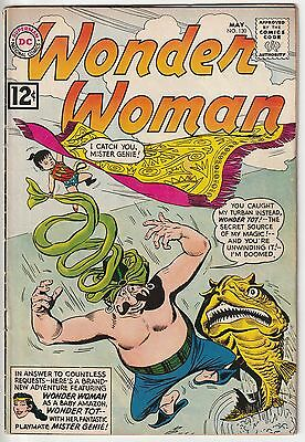 WONDER WOMAN #130,ANDRU ART,EARLY 12c DC SILVER AGE!