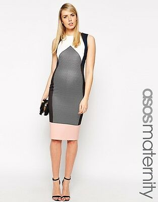 ASOS Maternity Bodycon Dress Size AU 8