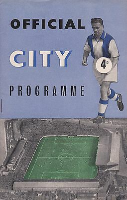 Coventry City v Millwall,  Division 3 South,  23/11/1957