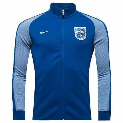 Nike England Authentic N98 Track Jacket 2016/17 -Blue-Mens