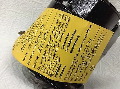Bendix Aircraft Magneto   Type  S6Ln-21  P/n 10-51365-43   # Serviceable Tag  #
