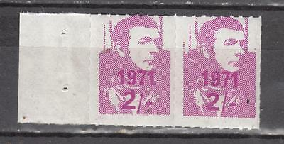 1971 Postal Strike Pair 2s Unmounted Mint Full Gum ( For Condition See Scan )