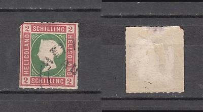 Queen Victoria Heligoland 2 Schilling Used ( For Condition See Scan )