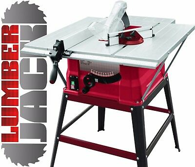 "Lumberjack TS254ELS Lumberjack 10"" 1500W Table Saw Side & Rear Exten..."