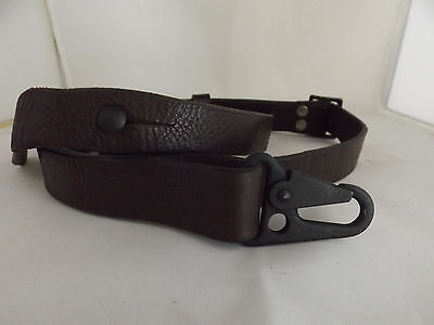 HECKLER & KOCH HK ORIGINAL LEATHER RIFLE SLING H&K 91 G3 MP5 93 33 clons used