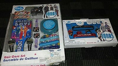NEW!!🎁  2 sets jonas brothers large lot hair and jewerly fan wear awesome gift