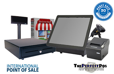 All in One Retail Point of Sale Bundle Featuring Corner Store POS - Bronze