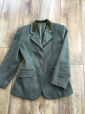 Childs Tagg Green Tweed Show Hunt Jacket 28""