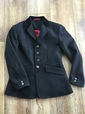 shires Black Show Jacket size 28""