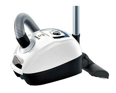 Bosch BGL4332GB White GL40 All Floor Compact HEPA 4L Cylinder Vacuum Cleaner