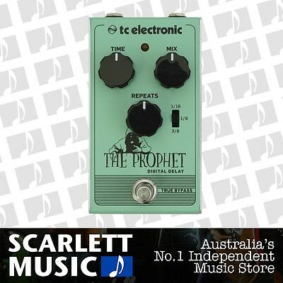 TC Electronic The Prophet Digital Delay Effects Pedal *BRAND NEW*