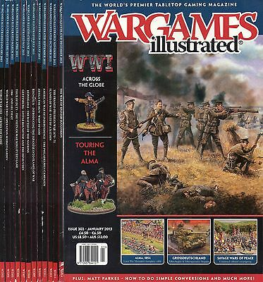 Wargames illustrated COMPLETE YEAR 2013