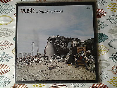 rush: a farewell to kings: LP vinyl record