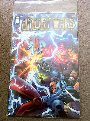 The Amory Wars comic Volume 2 Issue 2, unread, brand new, bagged