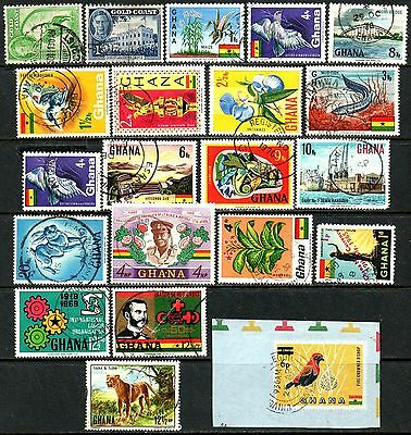 Ghana Clearance 20 Good Used Stamps