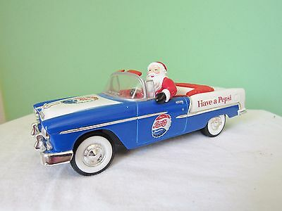 "Liberty Classic 1955 Chevy, Limited Edition, ""have A Pepsi"" Santa Claus Driver"