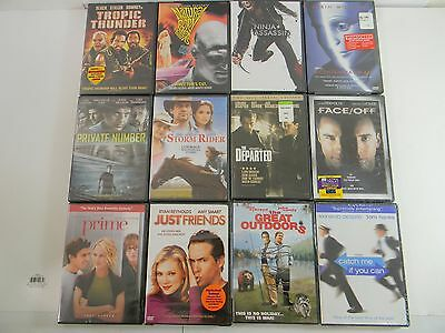 Lot of 45 NEW DVD Movies BRAND NEW DVDs SEALED Great Titles