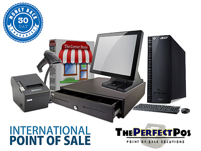Retail Point of Sale Bundle Featuring Corner Store POS - Bronze