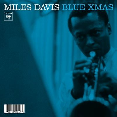 "Miles Davis & Gil Evans / Blue Xmas / Devil May Care - 7"" Vinyl Single, blue"