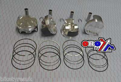 Suzuki GSXR1000 2005  - 2008 73.40mm Bore Wossner Racing Piston Set (x4)